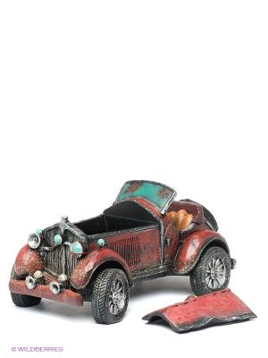 Фигурка Ретро-автомобиль Sealmark. Цвет: бордовый, черный
