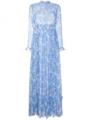 Платье Celestial Macgraw. Цвет: синий