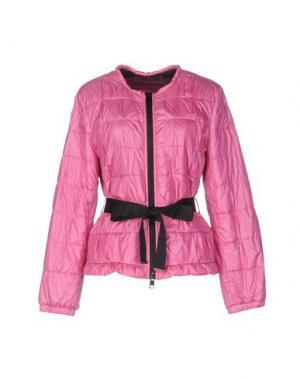 Куртка 22 MAGGIO BY MARIA GRAZIA SEVERI. Цвет: фуксия