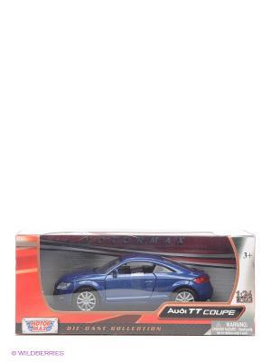 Машинка коллекционная 2007 Audi TT Coupe  в масштабе 1к24 Motormax. Цвет: синий