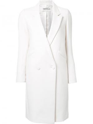 Классическое пальто Taro Horiuchi. Цвет: белый