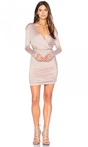 Платье kelsi De Lacy. Цвет: серо-коричневый