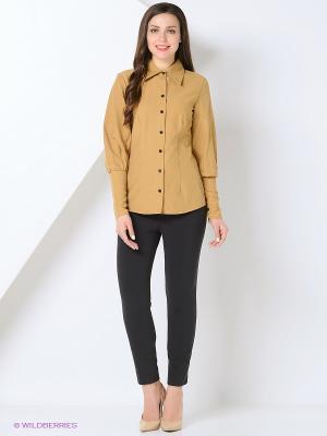 Рубашка BYGAKOFF. Цвет: кремовый
