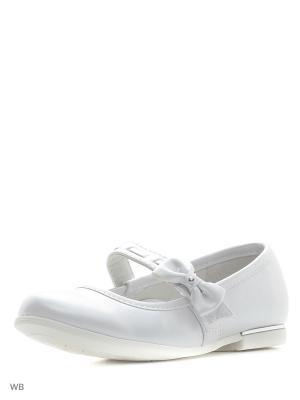 Туфли Болеро. Цвет: белый