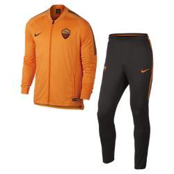 Мужской футбольный костюм A.S. Roma Dry Squad Nike. Цвет: оранжевый