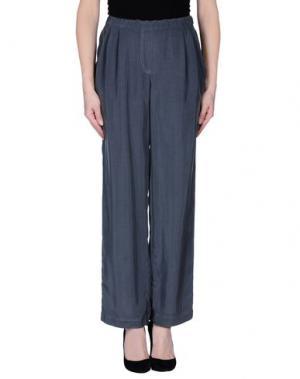 Повседневные брюки ES'GIVIEN. Цвет: серый