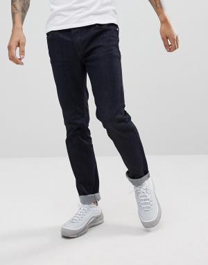 WESC Темные джинсы узкого кроя Eddy. Цвет: синий