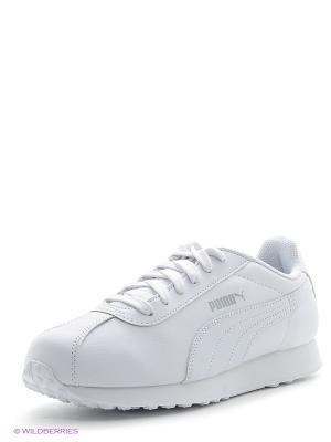 Кроссовки PUMA Turin. Цвет: белый