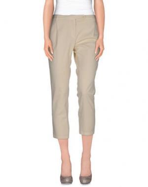 Повседневные брюки ..,MERCI. Цвет: бежевый