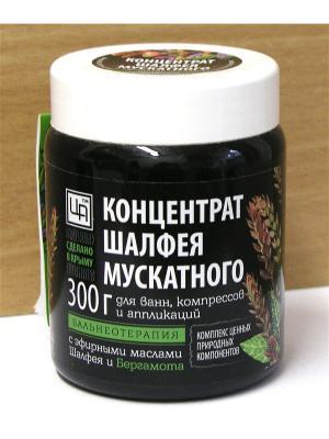 Шалфей - Бергамот концентрат растительного сырья Царство Ароматов. Цвет: черный