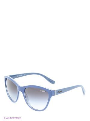 Солнцезащитные очки Vogue. Цвет: синий