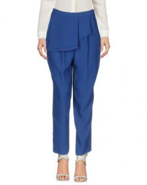 Повседневные брюки ANNIE P.. Цвет: синий