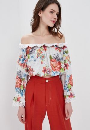 Блуза Met. Цвет: серый