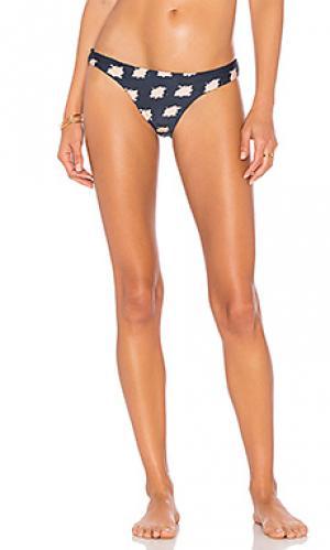 Кокетливые плавки-бикини Vix Swimwear. Цвет: синий