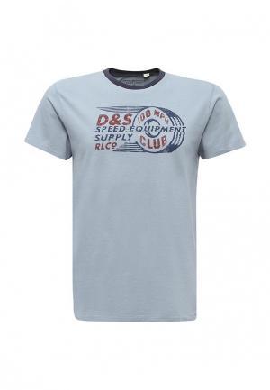 Футболка Denim & Supply Ralph Lauren. Цвет: голубой