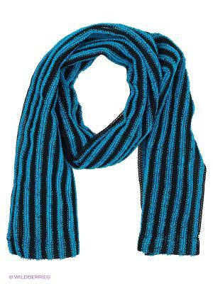 Мочалка мужская массажная для тела с акриловыми волокнами 110см KOKUBO. Цвет: голубой, черный