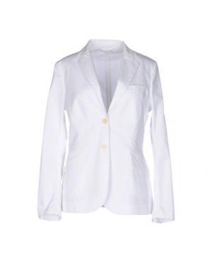 Пиджак ASPESI. Цвет: белый