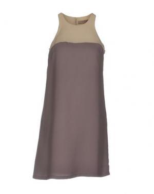 Короткое платье NELL&ME. Цвет: розовато-лиловый