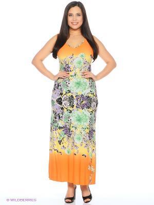 Сарафан Milana Style. Цвет: оранжевый