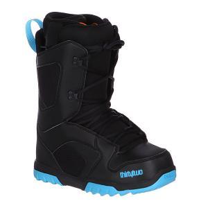 Ботинки для сноуборда  Exit Black/Down Blue Thirty Two. Цвет: черный,синий
