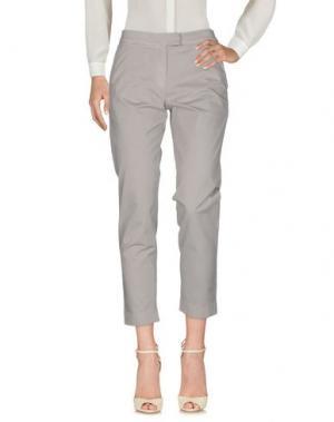 Повседневные брюки BARENA. Цвет: серый