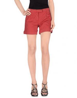 Повседневные шорты NOVEMB3R. Цвет: красный