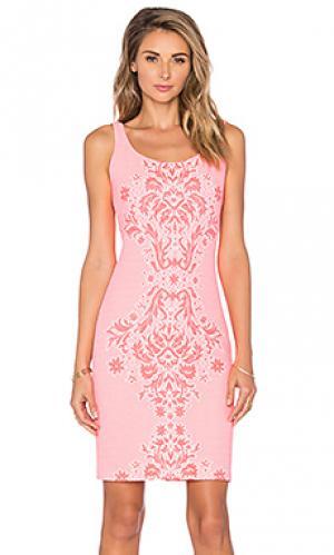 Платье cubano Amanda Uprichard. Цвет: розовый
