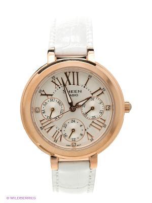 Часы Sheen SHE-3034GL-7A CASIO. Цвет: белый