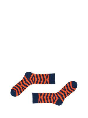 Носки Sammy Icon. Цвет: синий, голубой, оранжевый