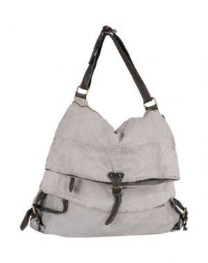 Дорожная сумка MASTER COAT. Цвет: серый