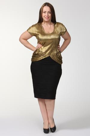 Блуза Зар-Стиль. Цвет: золото