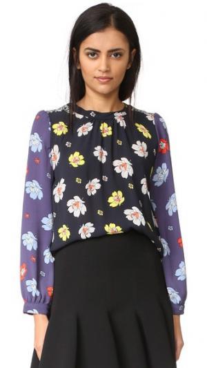Блуза Flora Warm. Цвет: цветочный мульти