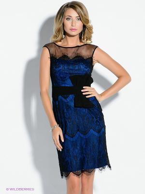 Платье X'Zotic. Цвет: синий, черный