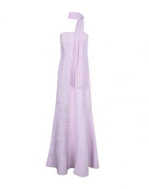 Длинное платье MUSANI COUTURE. Цвет: сиреневый
