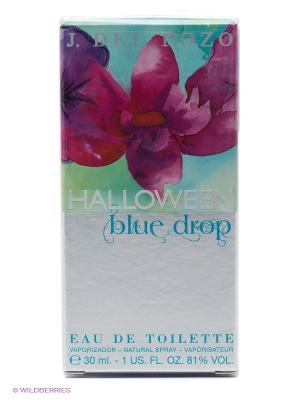 Туалетная вода Halloween Blue Drop, 30 мл. Цвет: серый, голубой, розовый