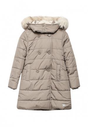 Куртка утепленная Brums. Цвет: бежевый