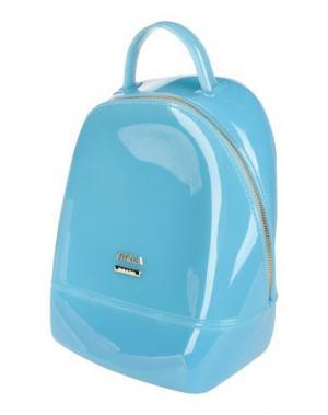 Рюкзаки и сумки на пояс FURLA. Цвет: бирюзовый