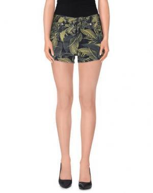 Повседневные шорты EMMA COOK. Цвет: кислотно-зеленый