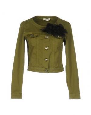Куртка SOUVENIR. Цвет: зеленый-милитари