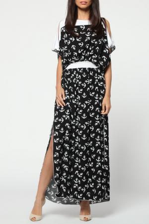 Платье Kata Binska. Цвет: черный, белый