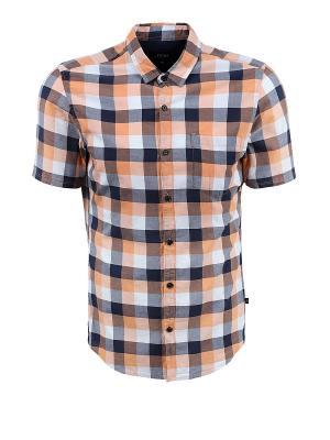 Рубашка EXTRA SLIM S.OLIVER. Цвет: коралловый