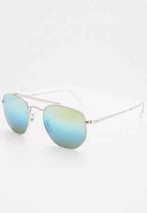 Очки солнцезащитные Ray-Ban®. Цвет: серебряный