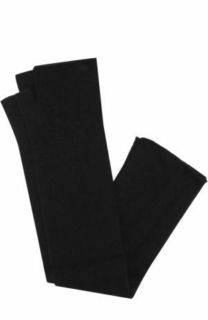 Кашемировые митенки Tegin. Цвет: черный