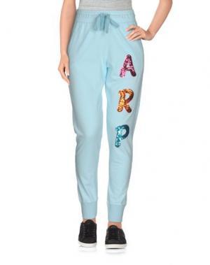 Повседневные брюки AGATHA RUIZ DE LA PRADA. Цвет: небесно-голубой