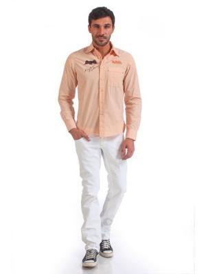 Рубашка VON DUTCH. Цвет: розовый