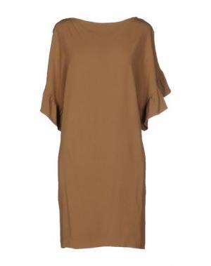 Короткое платье BELAIR. Цвет: хаки