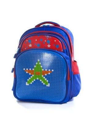 Рюкзак Vittorio Richi. Цвет: синий, красный