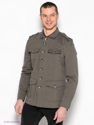 Куртка Al Franco. Цвет: хаки