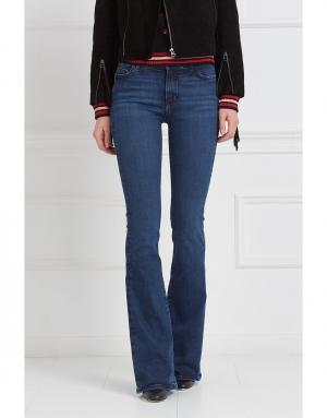 Расклешенные джинсы Bodycon Marrakesh MiH jeans. Цвет: синий