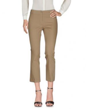 Повседневные брюки QL2 QUELLEDUE. Цвет: зеленый-милитари